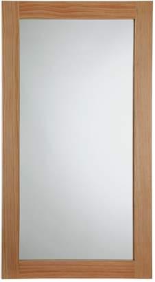 Argos Home Rectangular Thick Wooden Framed Mirror