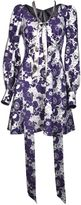 Marc Jacobs Floral Printed Dress