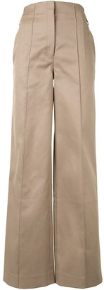 Peter Do High-Waisted Cotton Trousers