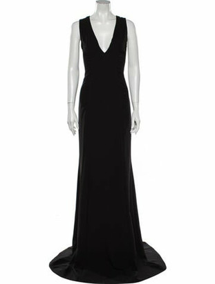 Narciso Rodriguez 2017 Long Dress Black