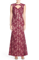 Xscape Evenings Cutout Lace Gown