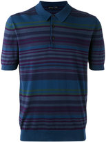 Etro striped polo top - men - Cotton - S