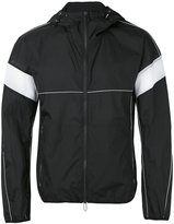 Emporio Armani zipped hooded jacket - men - Polyamide - M