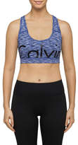 Calvin Klein Pop Spacedye Cut Off Logo Crop