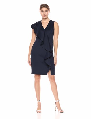 Eliza J Women's Asymmetric Ruffle Dress
