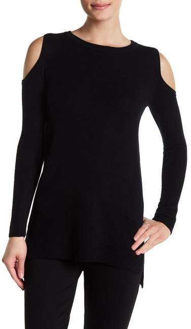 Alice + Olivia Wade Cold Shoulder Wool & Cashmere Tunic