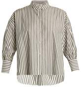 Nili Lotan Fulton striped cotton shirt