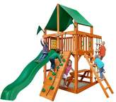 Gorilla Playsets Chateau Tower Swing Set