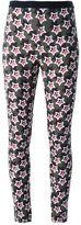 Ungaro star print skinny trousers