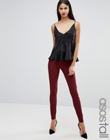 ASOS Tall ASOS TALL Stretch Skinny Pants In Ultimate Fit