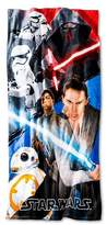 Star Wars The Force Awakens Beach Towel (28x58 inches) Blue/Red