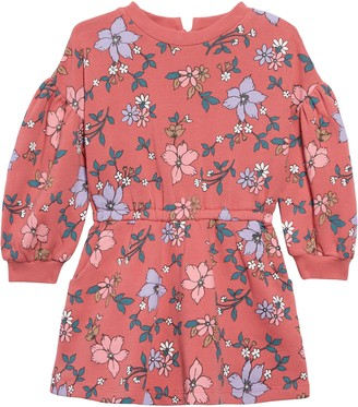 Peek Aren't You Curious Kirsten Floral Sweatshirt Dress