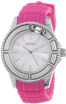 Versus By Versace Women's SH7020013 Tokyo Stainless Steel Watch with Pink Rubber Band