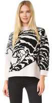 Temperley London Tiger Knit Jumper