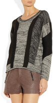 Helmut Lang Color-block knitted sweater