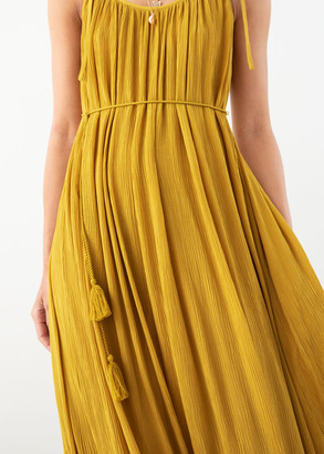 And other stories Gathered Maxi Dress