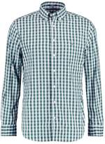 Gant HEATHER OXFORD GINGHAM Shirt pine green