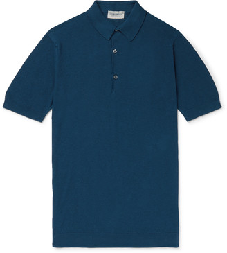 John Smedley Roth Sea Island Cotton Polo Shirt