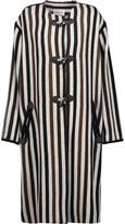 Etoile Isabel Marant Belia striped wool-blend coat