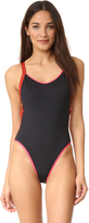 L-Space Color Block Flash One Piece
