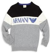Armani Junior Little Boy's & Boy's Colorblock Pullover