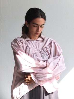 MII Cahier Pink Blouse - S