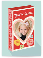 Minted Box Of Candy Classroom Valentine's Day Cards