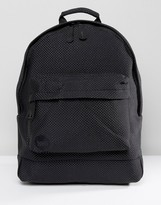 Mi-Pac Neoprene Dot All Black Backpack