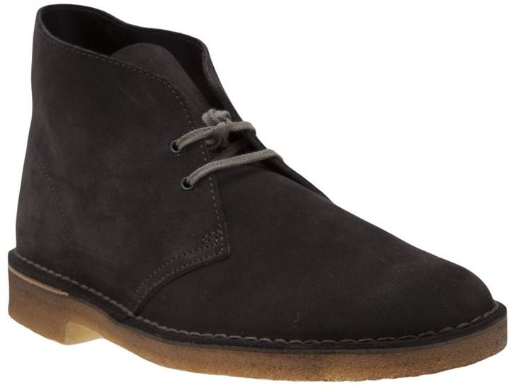 Clarks desert lace up boot