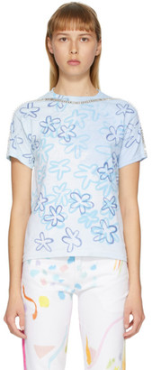 Collina Strada White and Blue Sporty Spice T-Shirt