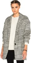 Isabel Marant Ilaria Tweedy Coat