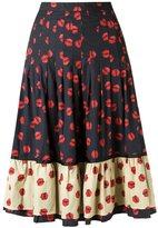 Isabela Capeto flared skirt - women - Cotton/Polyamide - 40