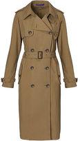Ralph Lauren Sinclair Cotton Trench Coat