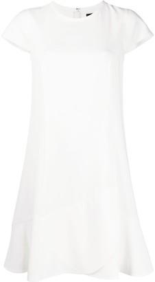 Paule Ka Asymmetric Shift Dress