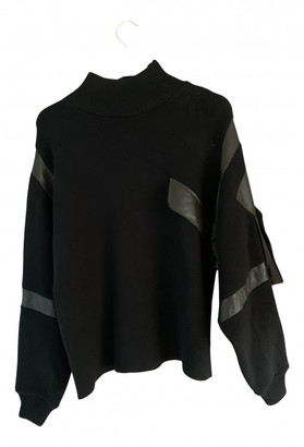Maryam Nassir Zadeh Black Cotton Knitwear