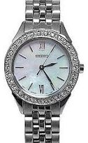 Seiko 3-Hand with Swarovski® Crystals Women's watch #SXGP27