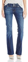 Hudson Women's Signature Petite Bootcut Flap Pocket Jean