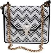 Bulgari Serpenti leather handbag