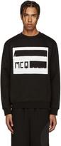 McQ by Alexander McQueen Black Logo Pullover