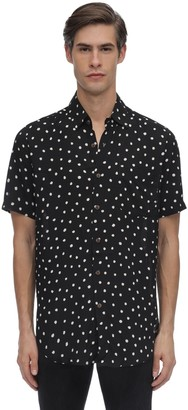 The People Vs Stevie On The Dot Printed Rayon Shirt