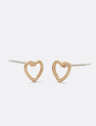 Draper James Wire Heart Studs