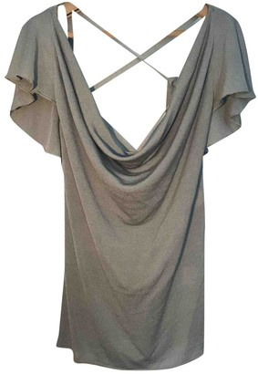 Valentino Grey Silk Top for Women