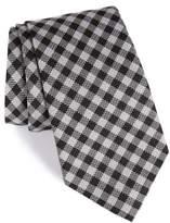 Nordstrom Men's Check Silk & Wool Tie
