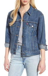 Levi's Ex-Boyfriend Denim Trucker Jacket