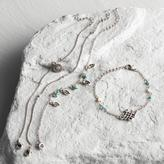 Silver and Turquoise Mixed Bracelets Set of 4