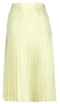 Givenchy Silk Pleated Skirt