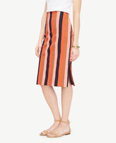 Ann Taylor Home Skirts Striped Pencil Skirt Striped Pencil Skirt