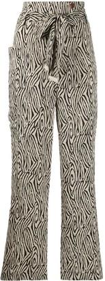 Nanushka Marlin fisherman style trousers