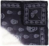 Alexander McQueen Skull scarf - women - Milk fiber/Modal - One Size