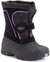 totes Tori Toddler Girls' Waterproof Snow Boots